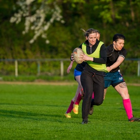 2017-04-06 TG Darmstadt Rugby Ladies Training